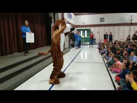 Thomas Page Academy Tiger Spirit