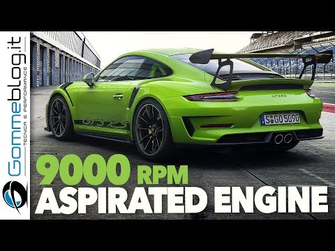2018 NEW Porsche 911 GT3 RS 520 HP - Aspirated Engine Inside !!! OFFICIAL TRAILER