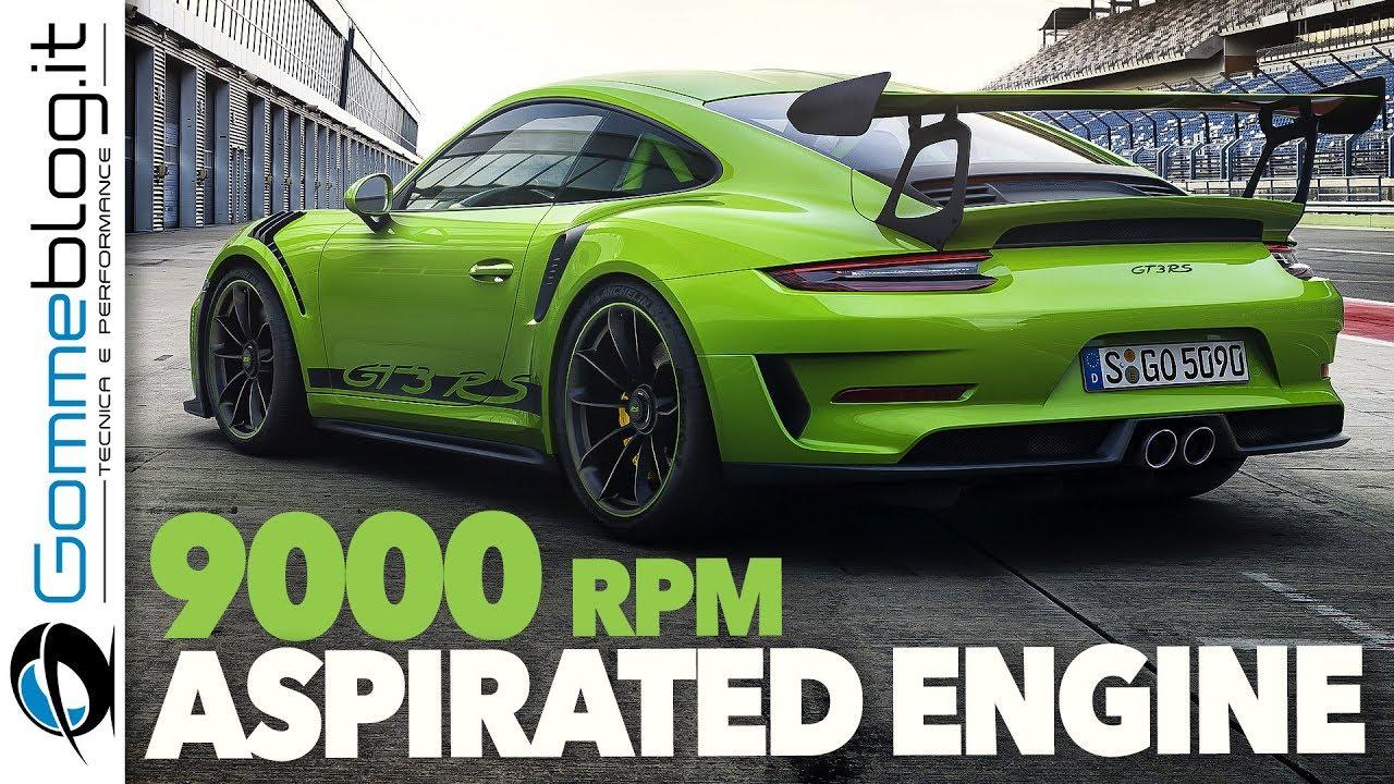 2018 NEW Porsche 911 GT3 RS 520 HP - Aspirated Engine ...