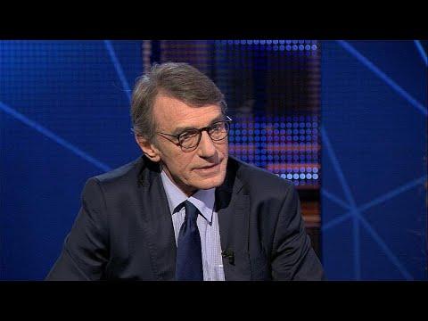 euronews (in English): Watch in full: Euronews interviews EU parliament chief David Sassoli