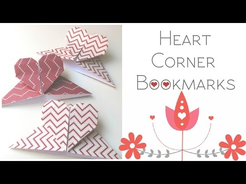 DIY Corner Bookmarks