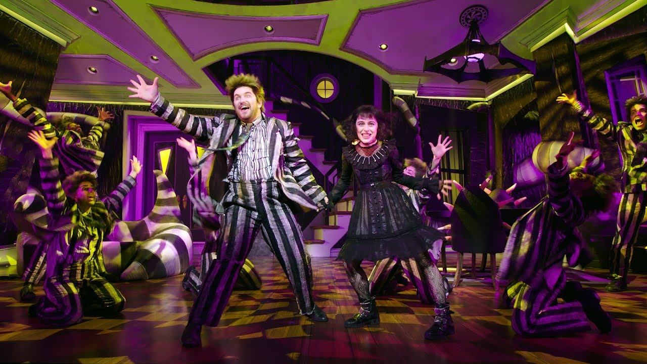 Beetlejuice Musical Broadway Trailer First Look Youtube