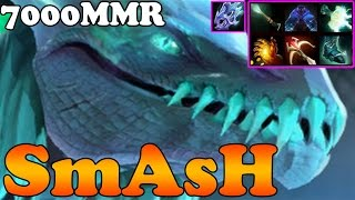 Dota 2 - SmAsH Plays Winter Wyvern with Daedalus, Mjollnir and Moon Shard - Pub Match Gameplay