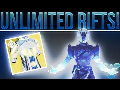 Destiny 2. UNLIMITED RIFTS!! (Not A Glitch Either....Way Cooler)