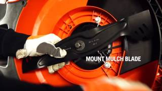 How to install mulch kit on a lawn mower