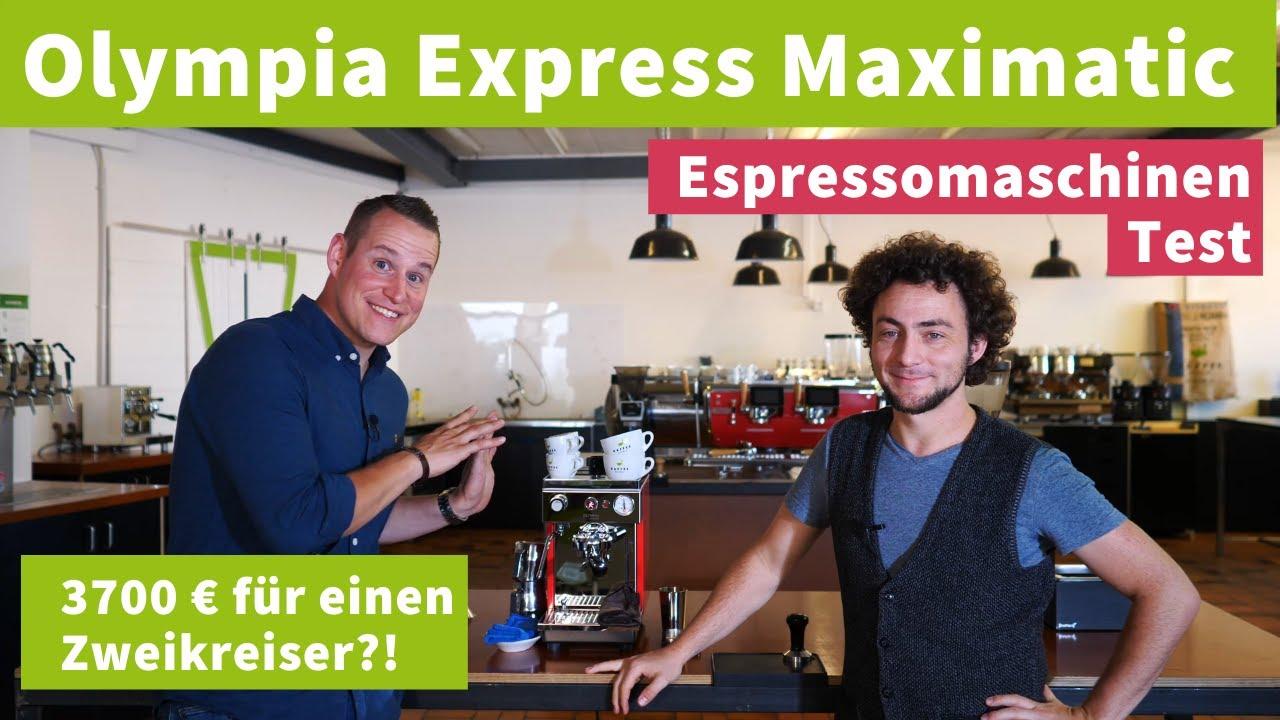 Zweikreiser-Espressomaschnine für 3700€?! - Olympia Express Maximatic im Test