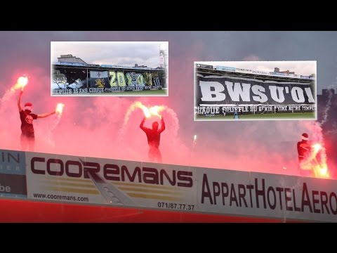 R. Charleroi .S.C. - R.S.C. Anderlecht Tifos & Pyro PO1 RSCA Champions