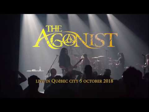 The Agonist - Thank you pain , LIVE quebec city 5oct2018
