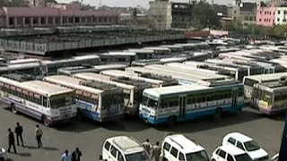 RSRTC buses to go off road as employees call for 48-hr strike