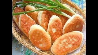 ЧУДО Пирожки, жареные  с курицей и грибами!&MIRACLE Pies fried with chicken and mushrooms!
