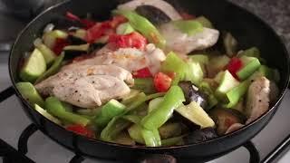 Простой турецкий ужин/Курица с овощами и десерт/Муж в восторге!