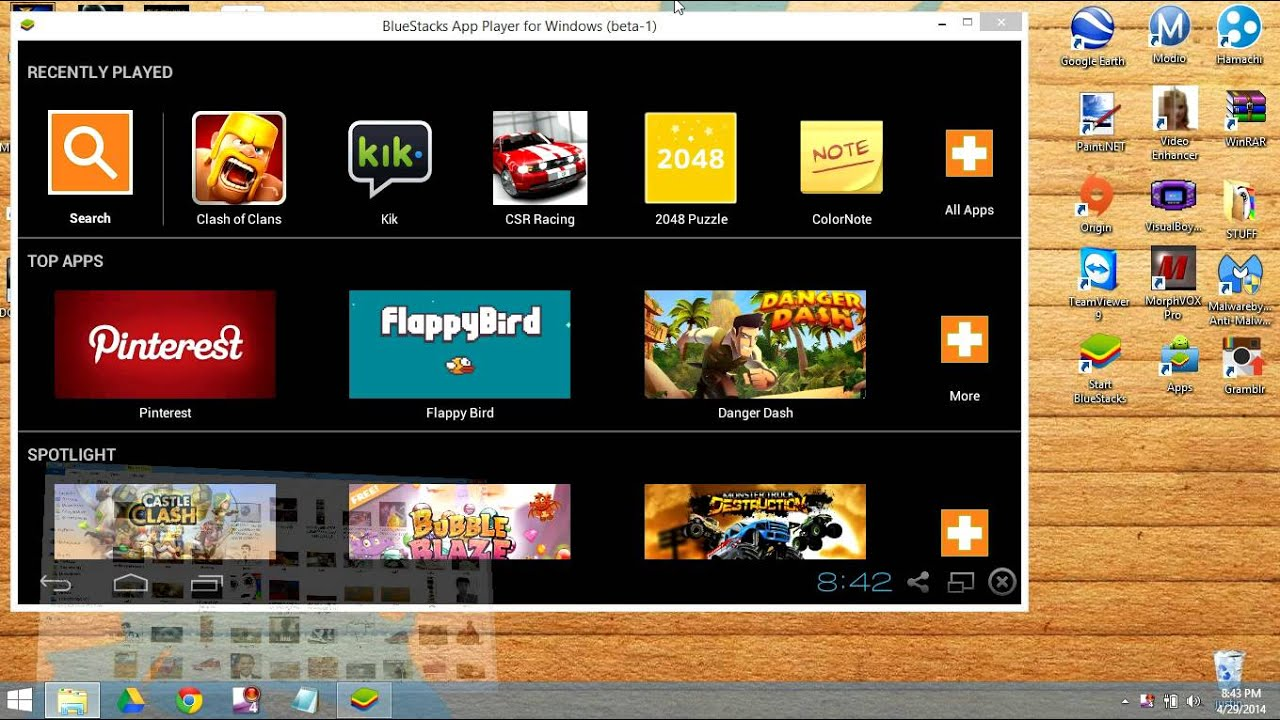 how to see gallery in bluestacks