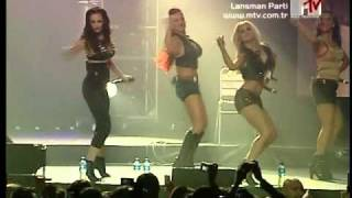 The Pussycat Dolls - Buttons/Beep (MTV TR Lansman Party - 2006)