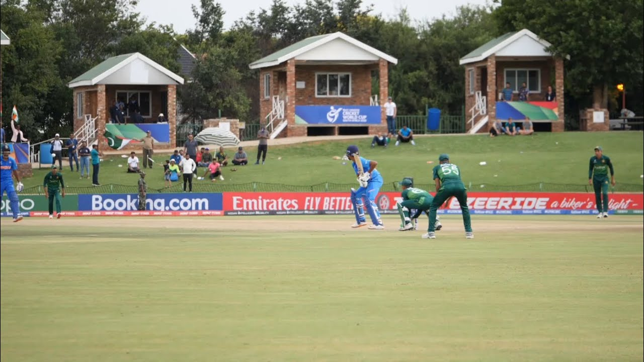 The moment Yashasvi Jaiswal sealed India's place in the 2020 Under 19 Cricket World Cup Final