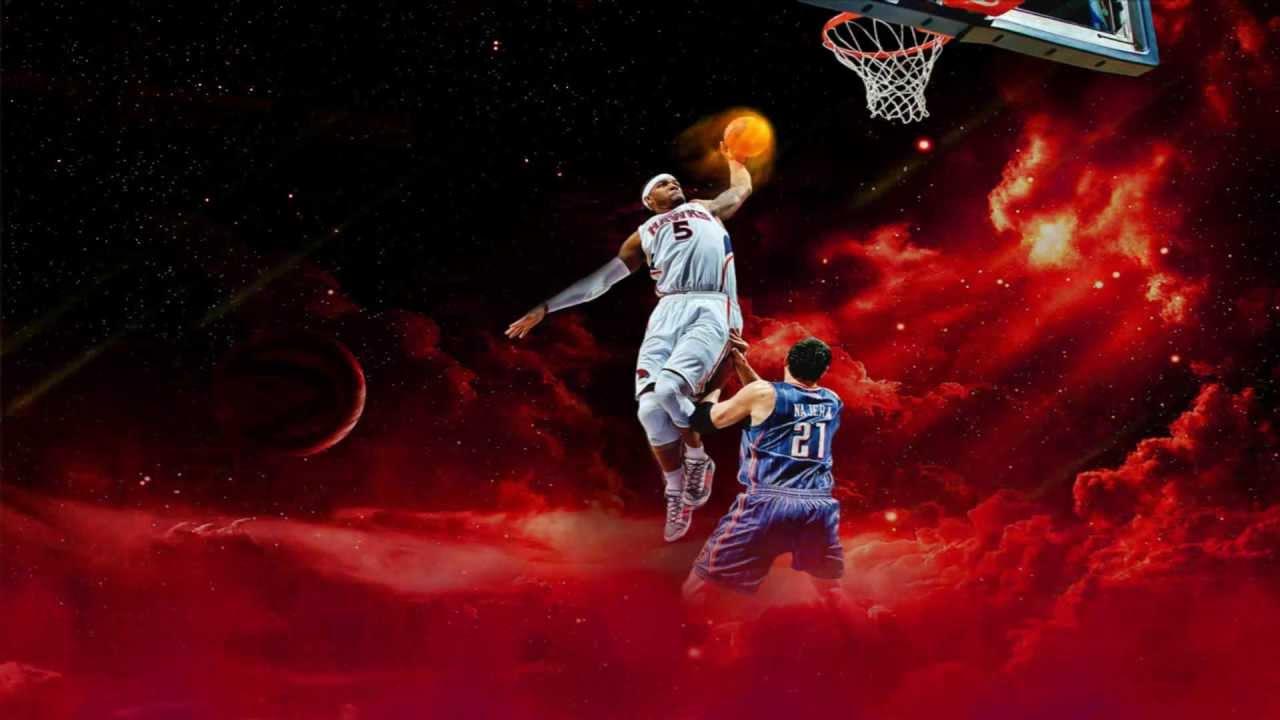 NBA On Fire Animated Wallpaper http://www.desktopanimated.com/