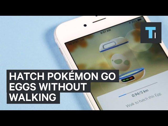 Hatch Pokémon GO eggs without walking