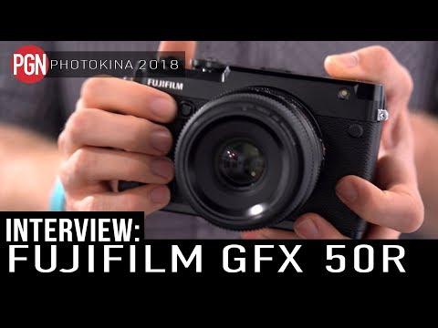 FUJIFILM GFX 50R - Interview with General Manager of Fujifilm UK about the new camera