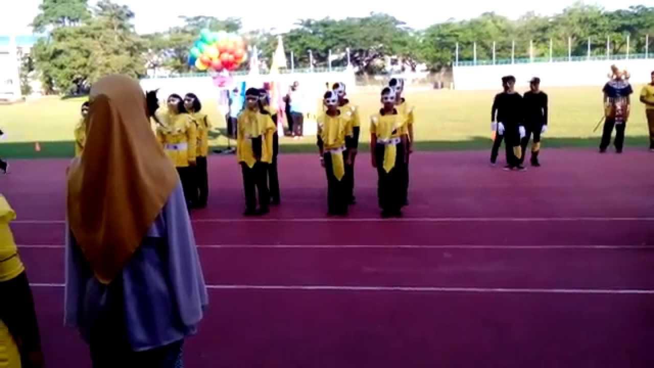 setiabudi secondary school sports day 2015 yellow house 4 - youtube