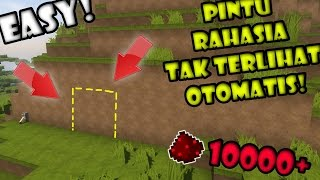 BIKIN Pintu RAHASIA TAK TERLIHAT! - Final FULL REDSTONE Minecraft Indonesia #14