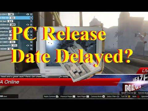Gta online pc release date