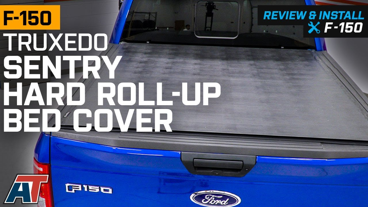 2015 2019 F150 Truxedo Sentry Hard Roll Up Bed Cover Review Install Youtube
