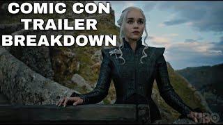 New Season 7 Comic Con Trailer Breakdown! - Game of Thrones Season 7 Trailer