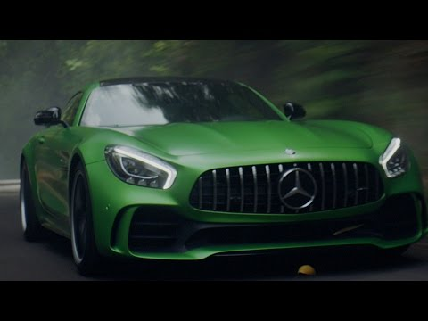 Lewis Hamilton introduces the new Mercedes-AMG GT R!