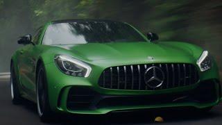 Lewis Hamilton introduces the new Mercedes-AMG GT R!