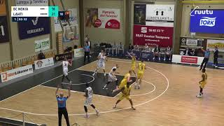Wes Wahspun three | vs. Lahti Basketball 23.1.2021