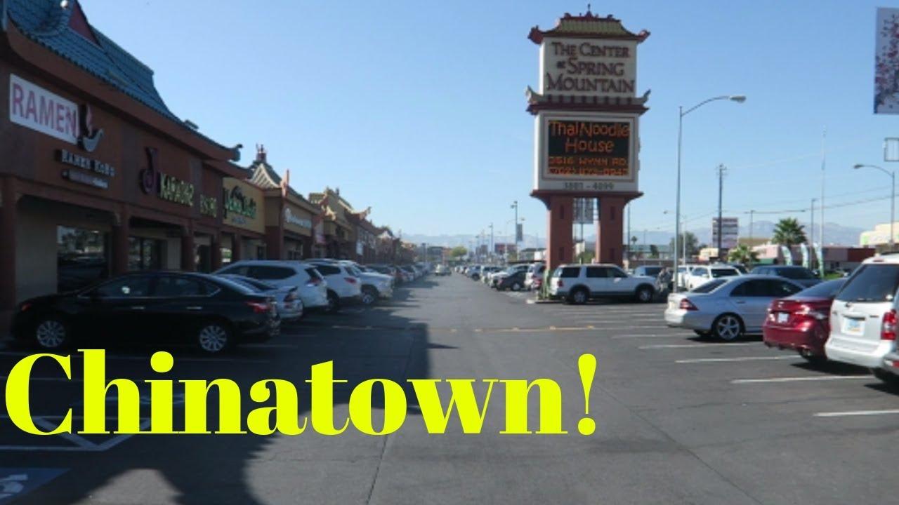 Walking Chinatown Las Vegas Vlog Youtube