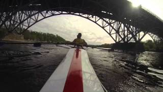 Here is a little taste of how Roman Crew runs the Schukyll River. S...
