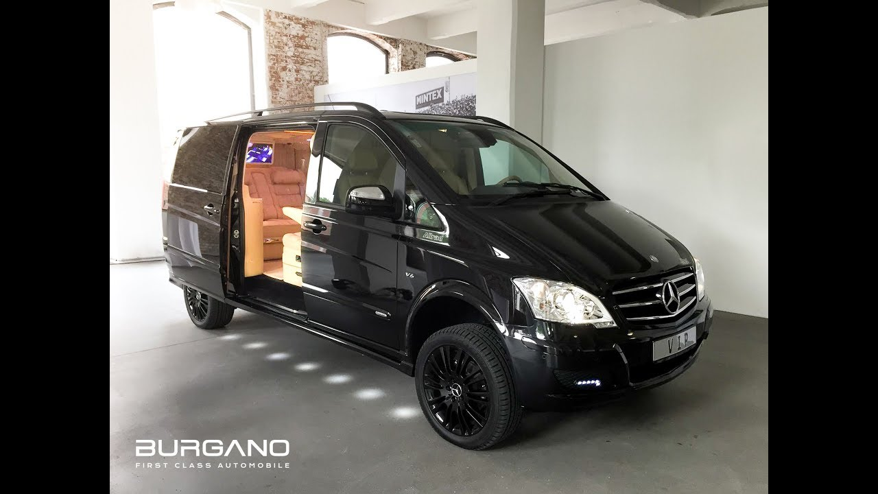 Mercedes Metris Van >> Mercedes Benz Viano 3,5 V6 4x4 VIP Edition - Luxury First Class Van Conversion by BURGANO ...