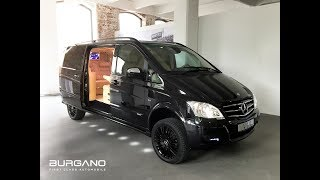 vuclip Mercedes Benz Viano 3,5 V6 4x4 VIP Edition - Luxury First Class Van Conversion by BURGANO Germany