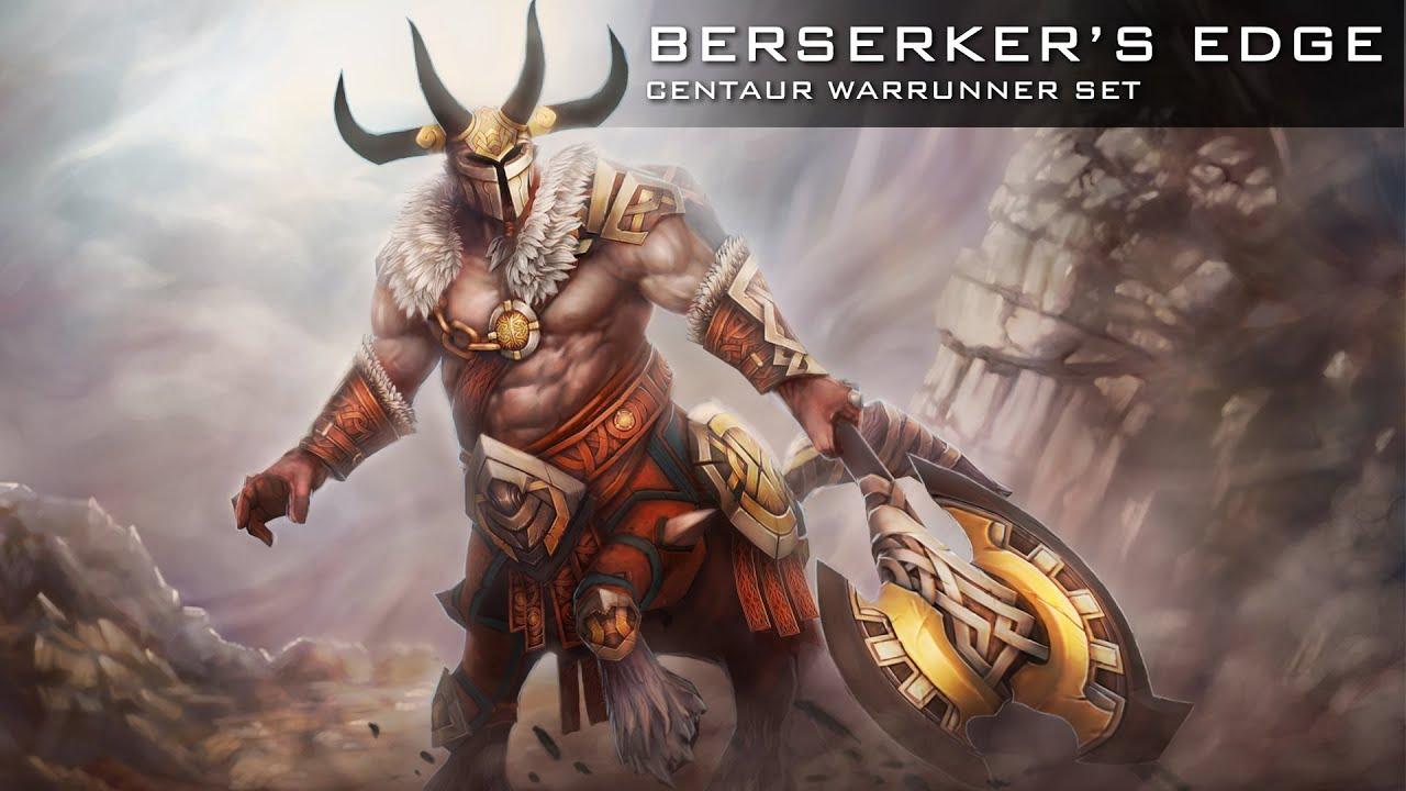 Dota 2 Berserkers Edge Centaur Set Workshop Submission