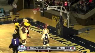 Navy Basketball Mascot Mayhem