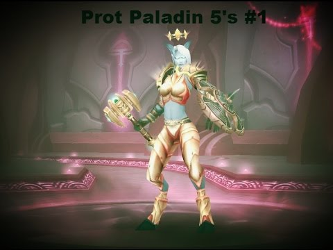 Level 70 PvP Guild 5's Prot Paladin POV
