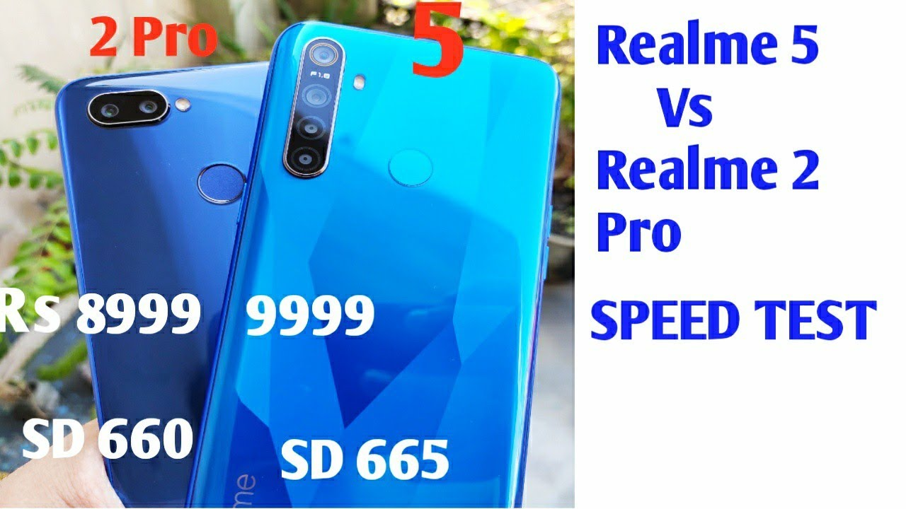 Realme 5 Vs Realme 2 Pro Speed Test, Multitasking Comparison