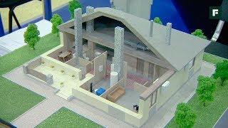 """Как строят дома из дерева. Новости выставки """"Загородный дом"""""""