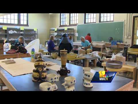 Video: Community bands together to reopen local Clayworks
