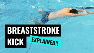 BREASTSTROKE KICK | How To Keep Your Breaststroke Streamlined