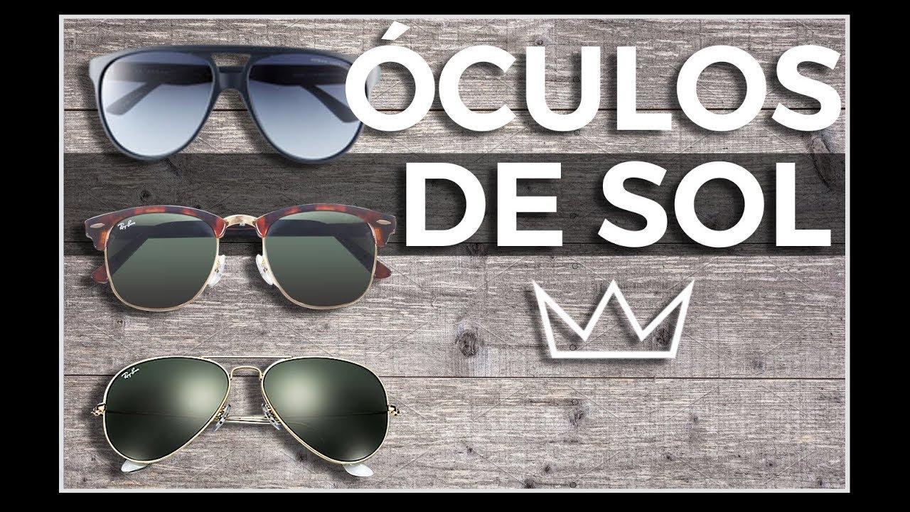 2141e658d8 ÓCULOS DE SOL: 9 estilos de armação para ter e usar / MODA MASCULINA ...