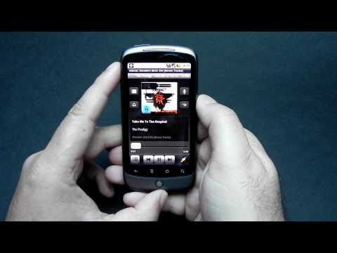 Winamp For Android Demonstration Video - Mobilissimo.ro