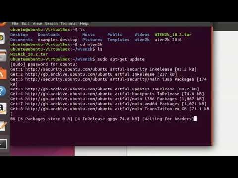 gfortran installtion on ubuntu 17 - YouTube