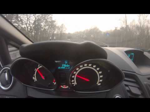 Ford Fiesta REVO ST – 215PS – Acceleration – 60-250KMH