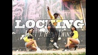 Locking X Dance Choreography   Rush Twins X Mr. V   Le Gai Le Gai -Dil Toh Pagal Hai