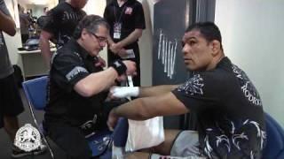 BlackHouse MMA -  Minotauro Nogueira - UFC110 Fight Day