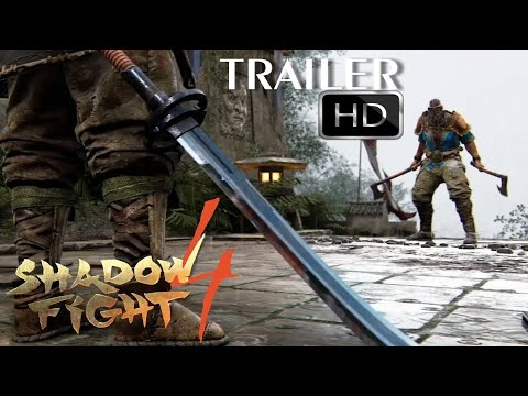 SHADOW FIGHT 4: top 5 Cinematic Official trailer Full HD video