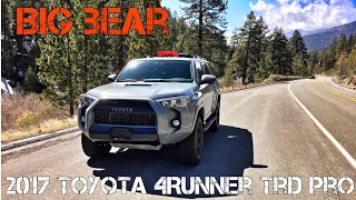 (Part12) 2017 4Runner TRD PRO Cement. Los Angeles to Big Bear in 14 Minutes.