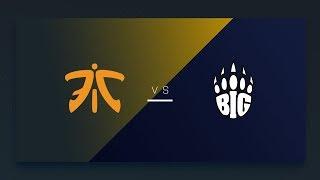 CS:GO - Fnatic vs. BIG [Overpass] Map 2 - EU Matchday 8 - ESL Pro League Season 8