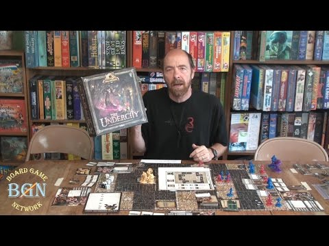How to play the board game The Undercity